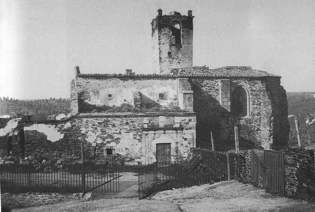 El Monasterio antes de su restauracion