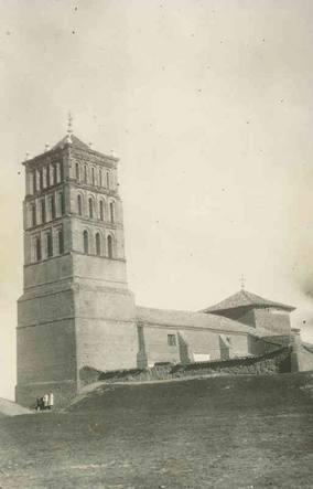 La Iglesia de San Pelayo de Villavicencio de los Caballeros a principios del pasado siglo. Fuente: Paula Foces Rubio