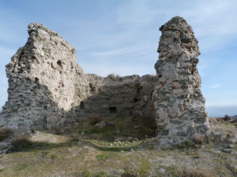 restos de la iglesia