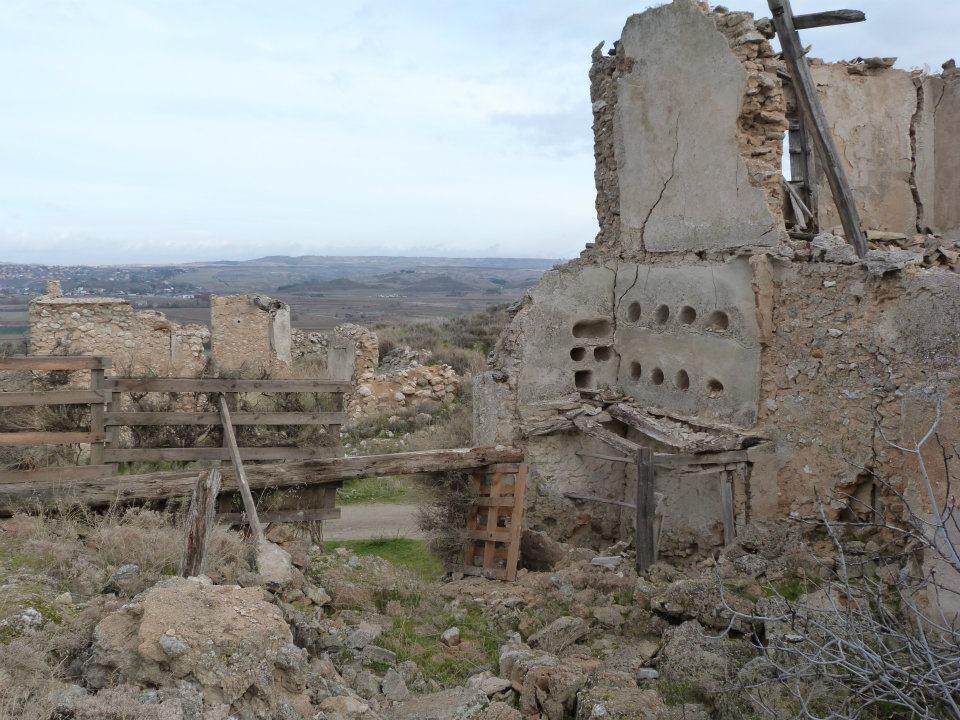 ruinas de palomar oreja toledo