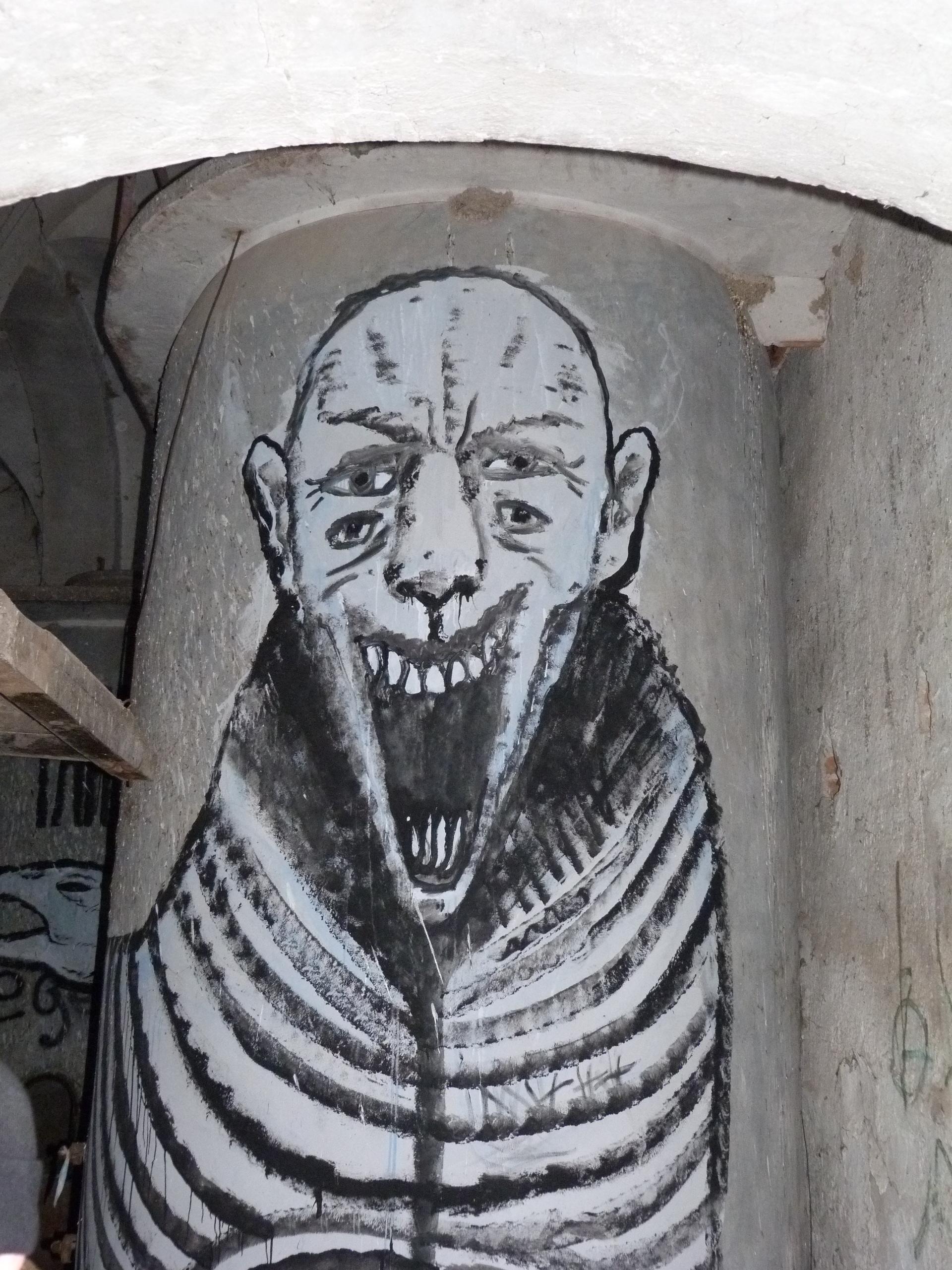 """Uno de los """"monstruos"""" que habitan el caseron"""