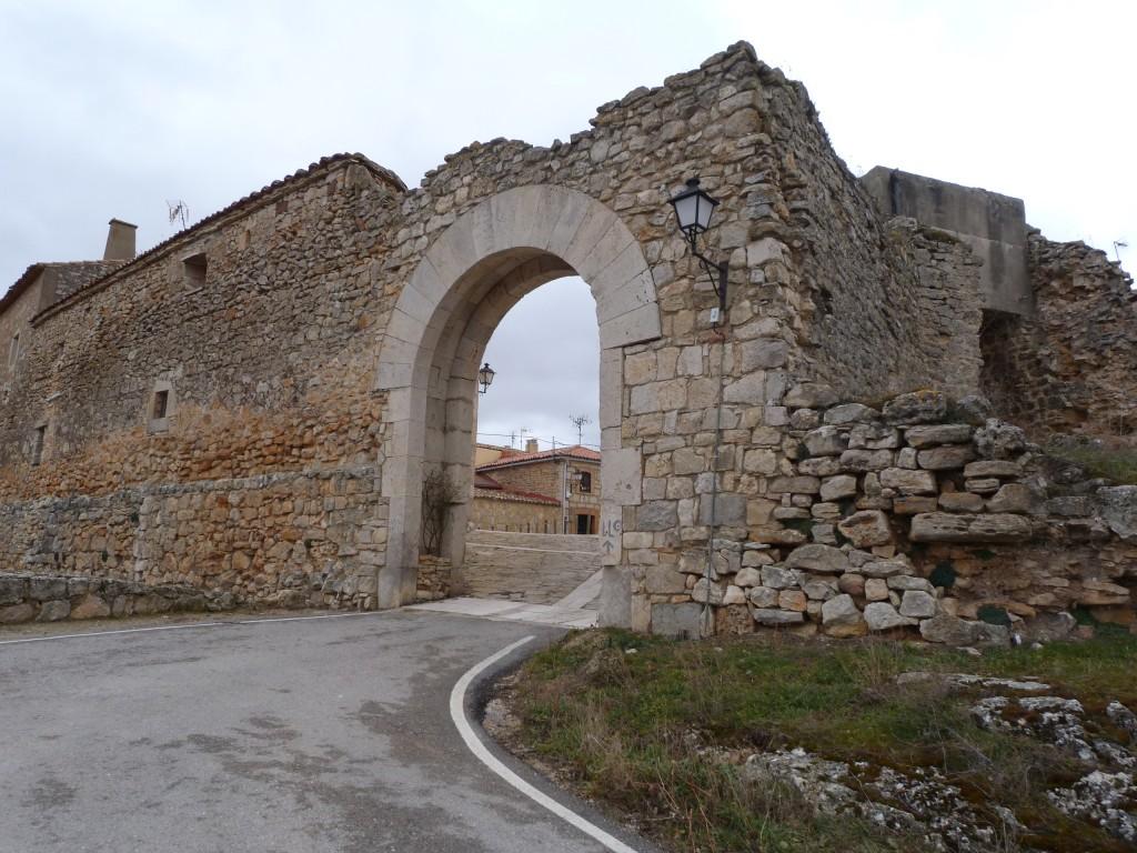 Arco de entrada al recinto amurallado