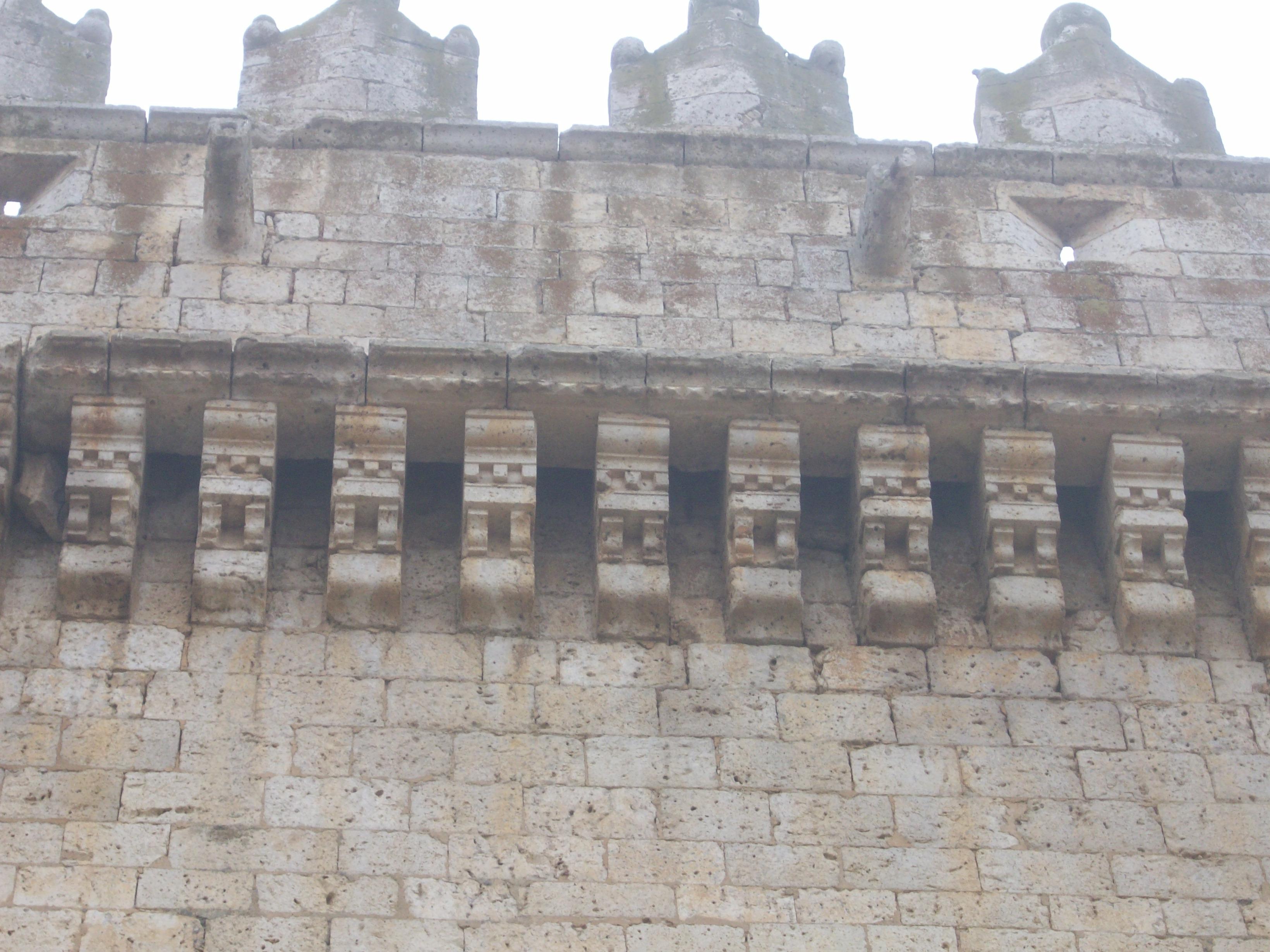 Detalle de la decoracion de la Torre