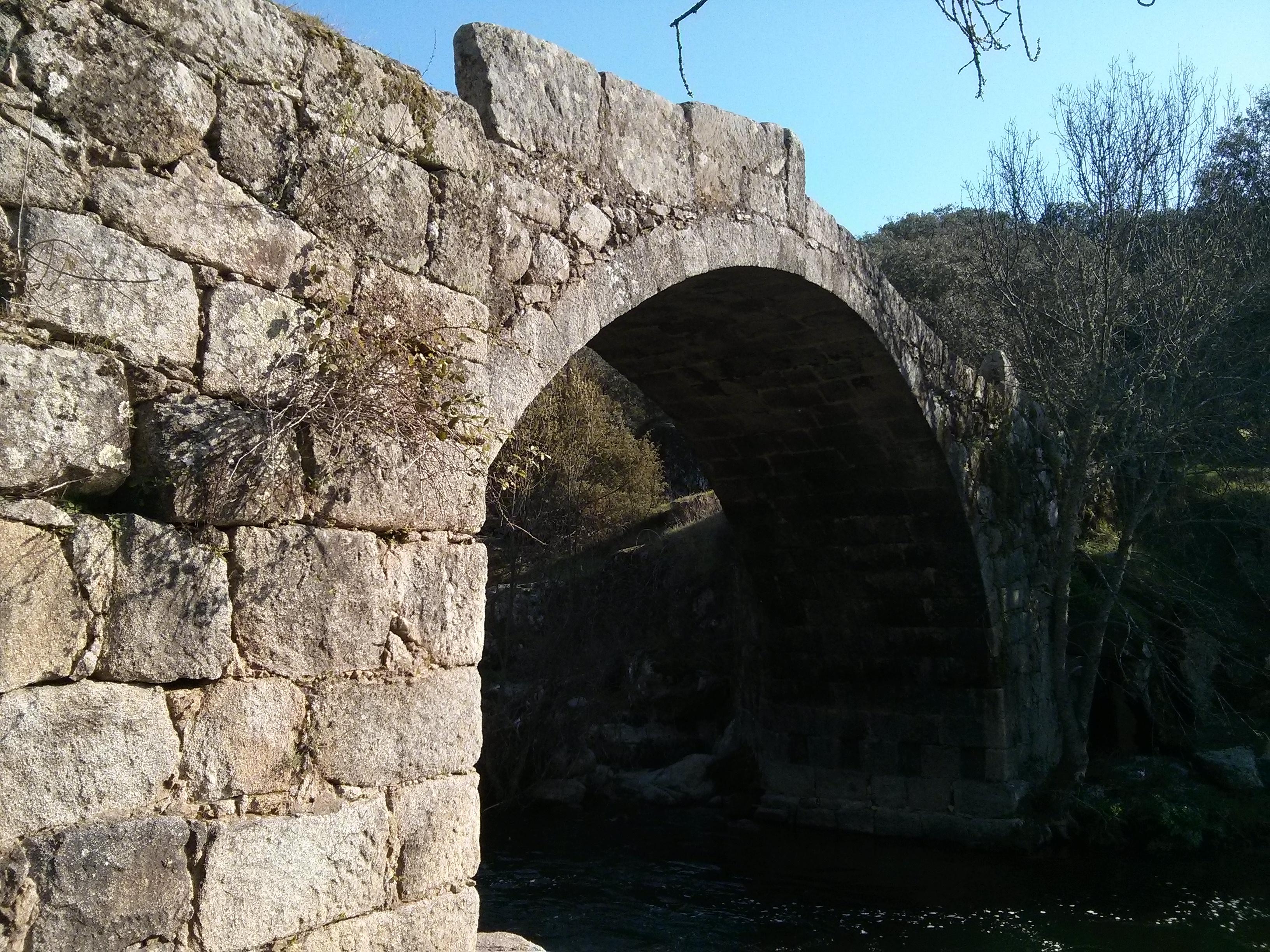 Detalle de los sillares utilizados en el Puente