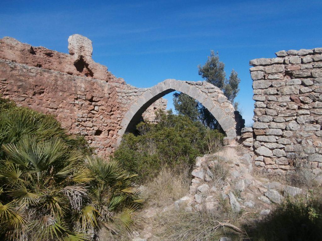 Arco principal del Castillo