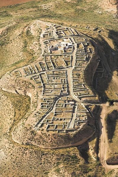 Vista aerea del conjunto urbano de Cabezo de Alcala