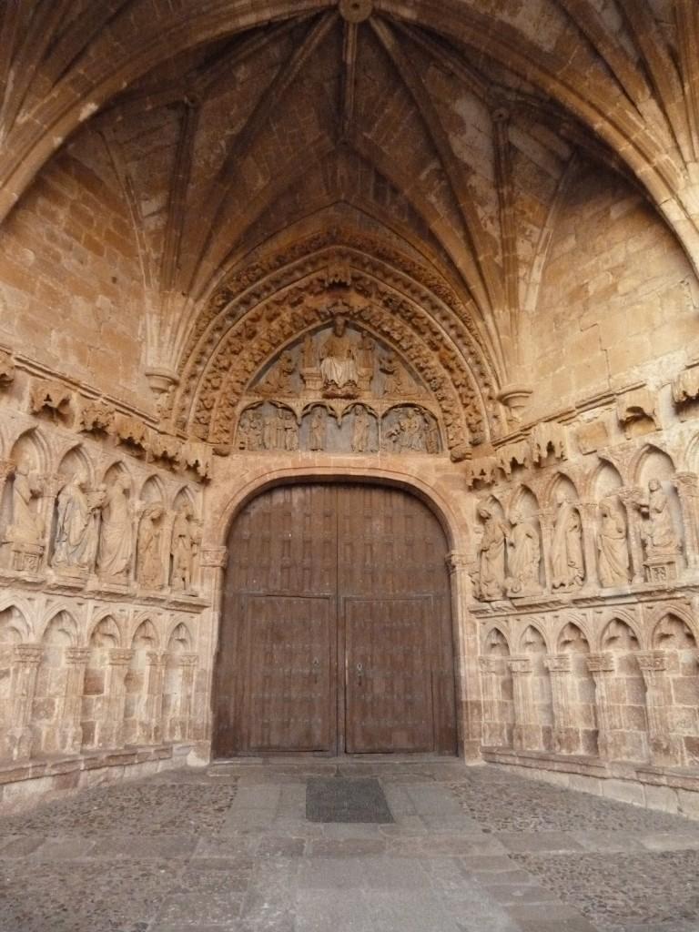 Vista de la Portada gotica