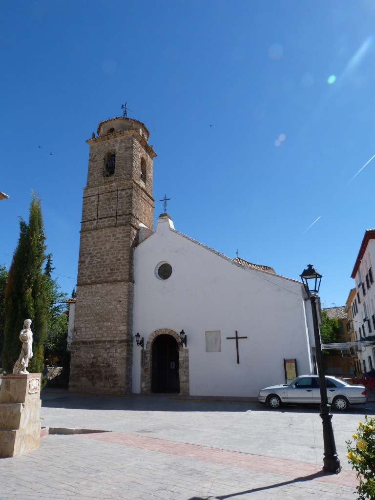Iglesia parroquial de Noalejo, donde se encuentra una de las Sabanas.