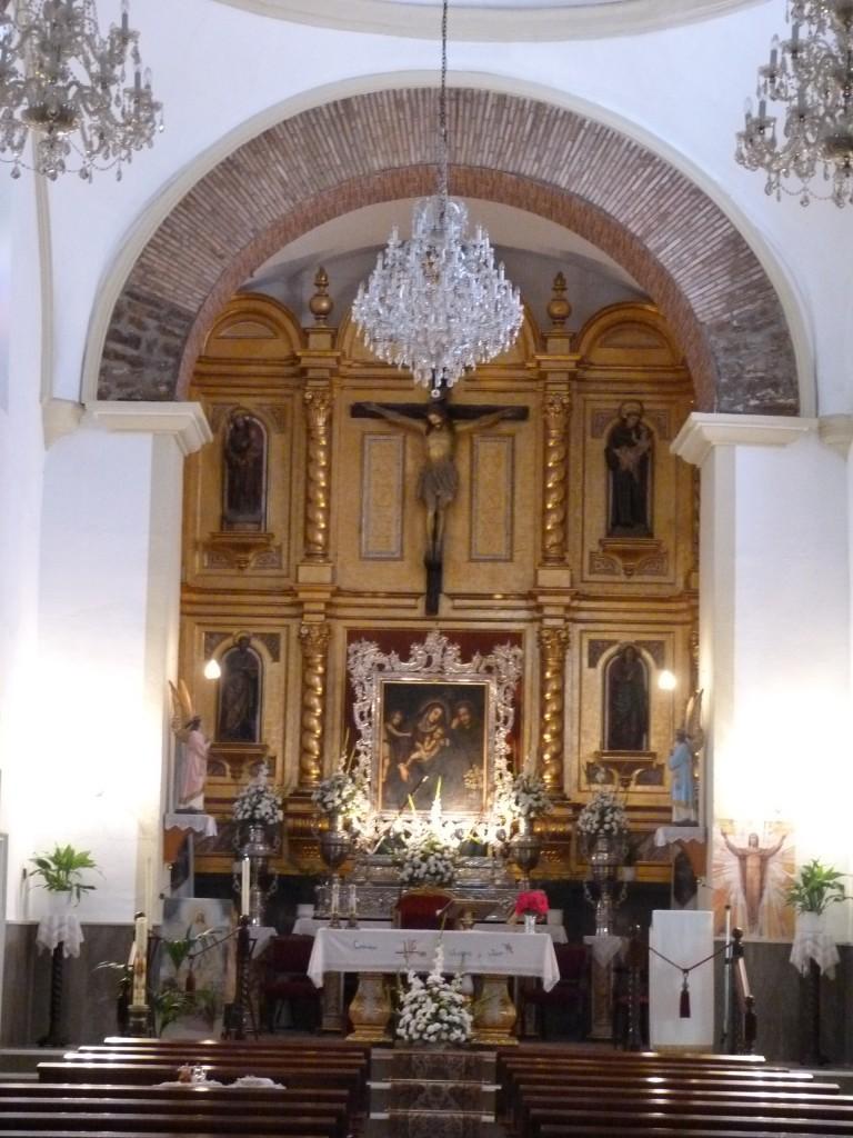 Altar Mayor de la Iglesia Parroquial de Noalejo