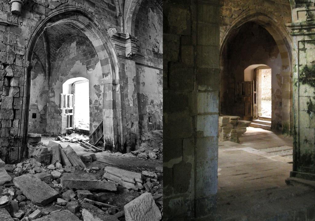 Iglesia, antes y despues