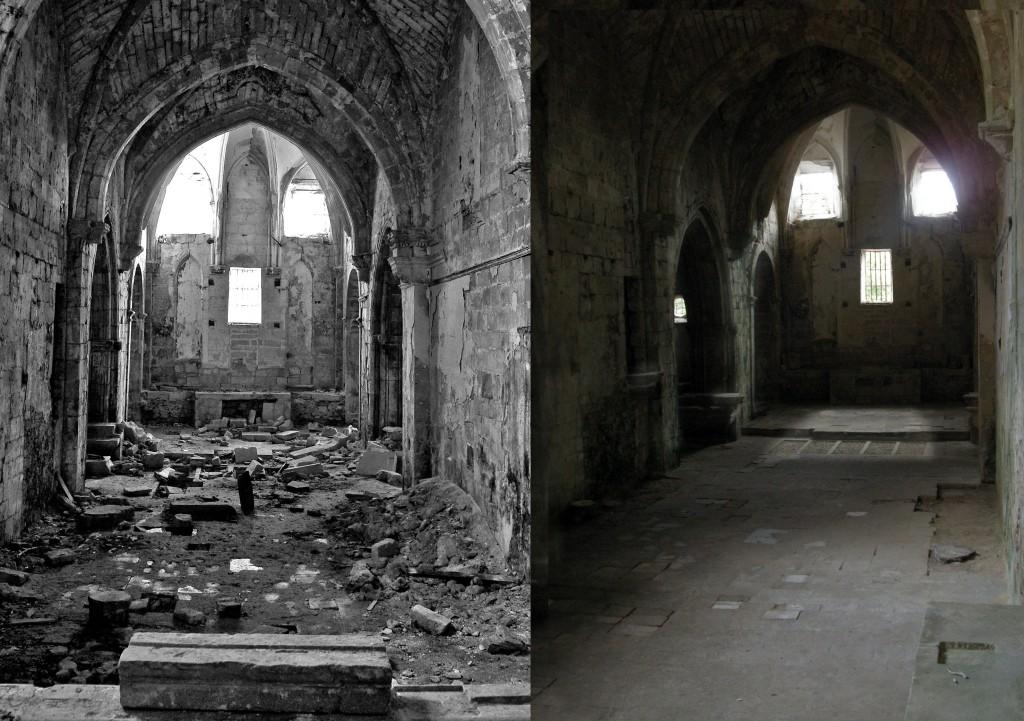 Iglesia antes y despues