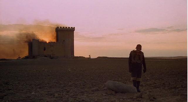 Plano inicial donde aparece el Castillo de Villalonso