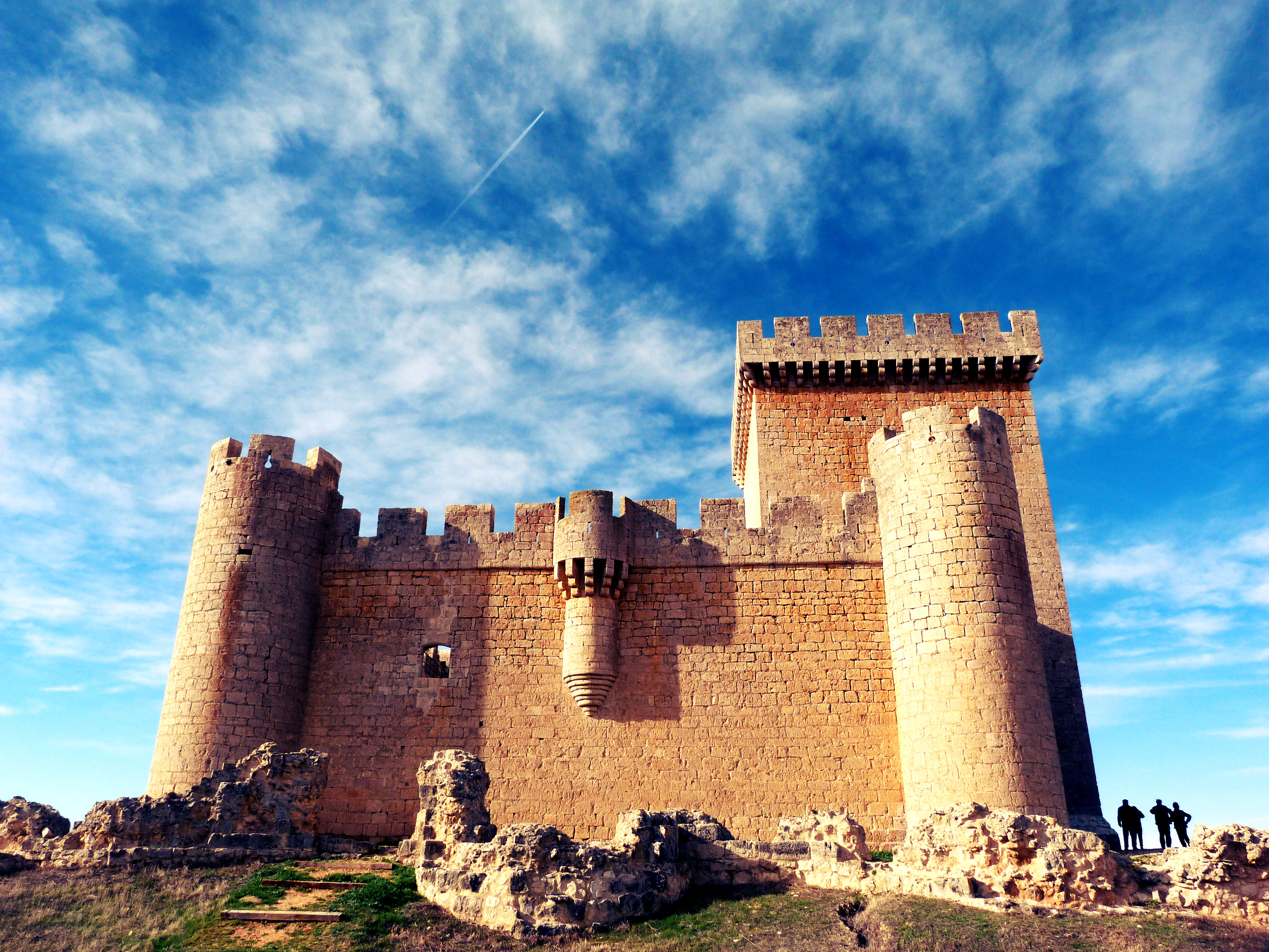 El Castillo de Villalonso (Zamora).