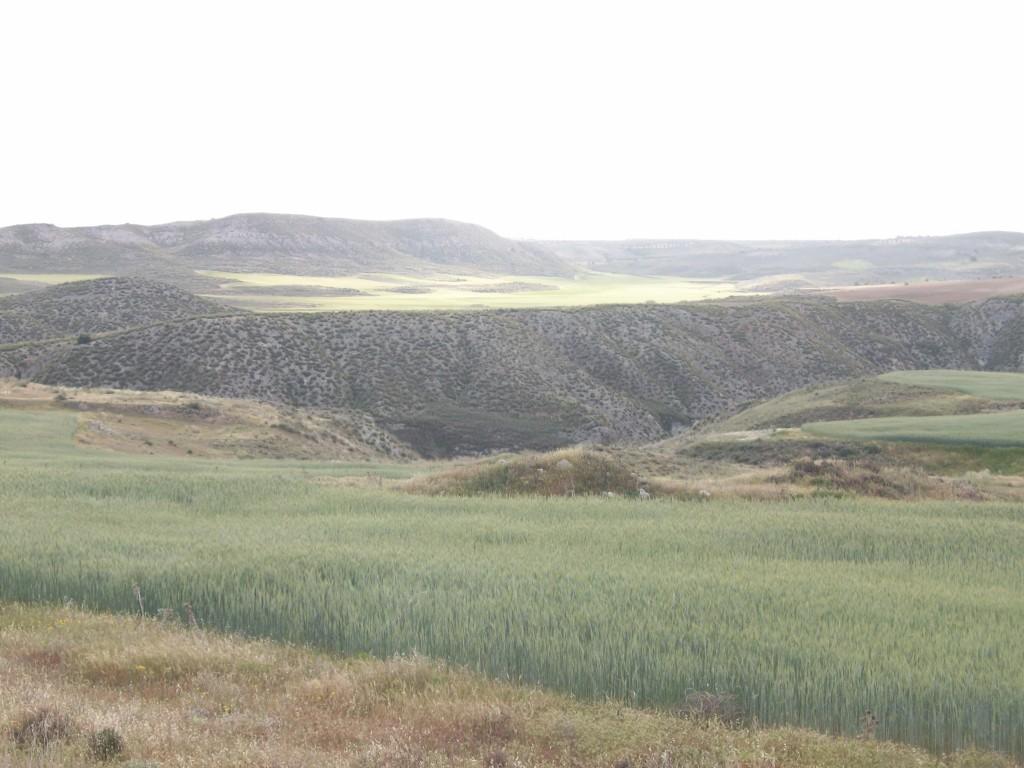Vista general del enclave de Villoria