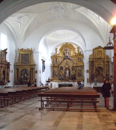 interior de santa maria castrover