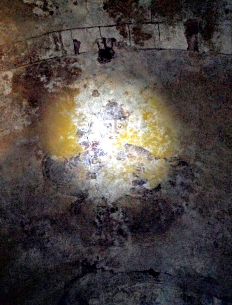 La Boveda es presidida por la imagen de San Salvador